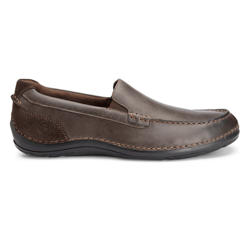 Thru The Week Slip On Men's Slip On Shoes in Brown